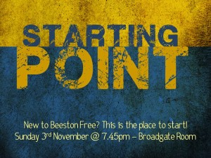 Starting point 3Nov