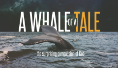 A whale of a tale button