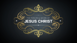 the person and work of jesus christ audio button