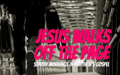 Jesus Walks off the Page: Matthew 11: 20-30